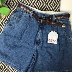 NWT Vintage High Rise Mom Jean Shorts Gloria Vande